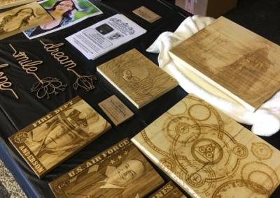 laser engraving booth 2