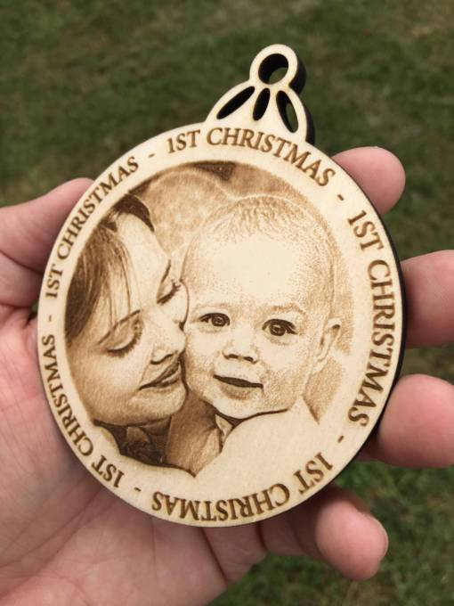 Personalized Christmas Ornament 3