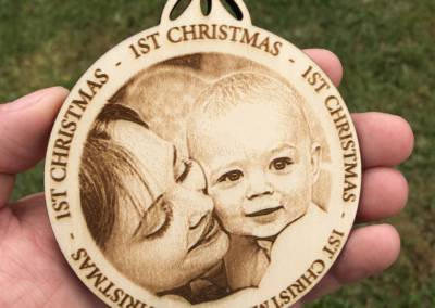 Laser Engraved Holiday Designs 4