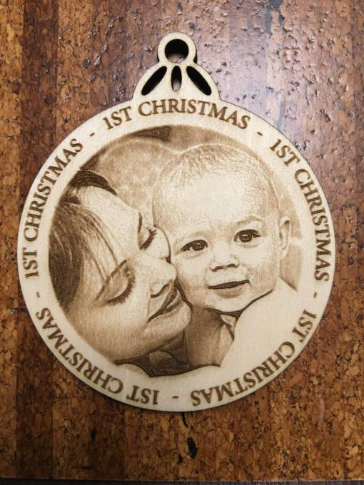 Personalized Christmas Ornament 1
