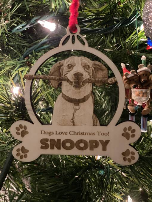 Snoopy Dog Ornament