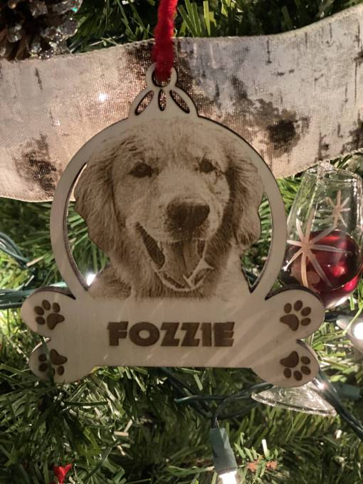 Dog Christmas Ornament 1