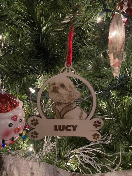 Dog Christmas Ornament 4