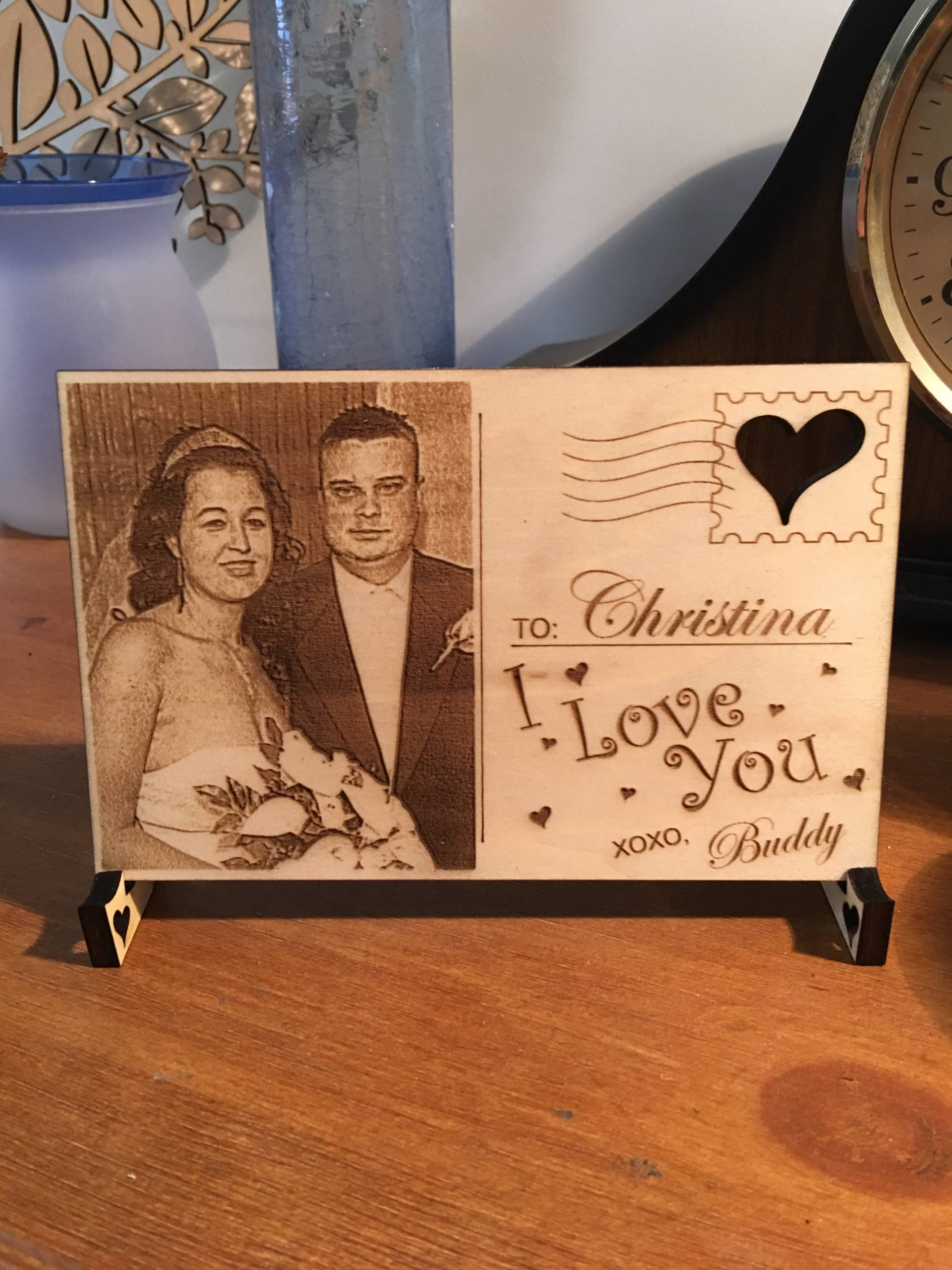 Laser Engraved Holiday Designs 8